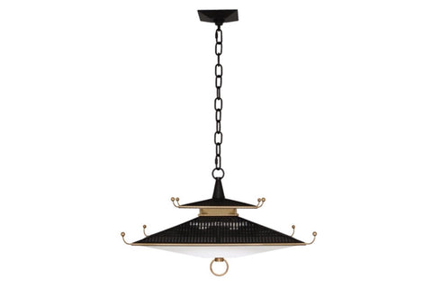 Williamsburg Spotswood Brass Pendant Light - Matthew Izzo Home