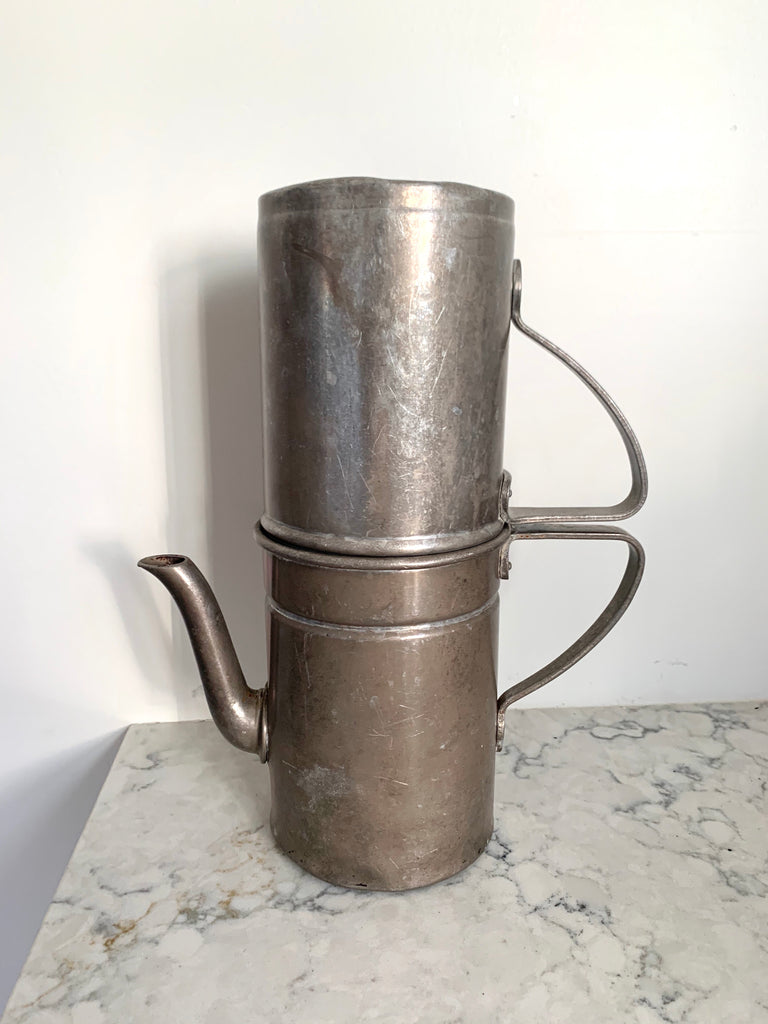 Late 19th Century Antique Metal Coffee Maker - Matthew Izzo Home