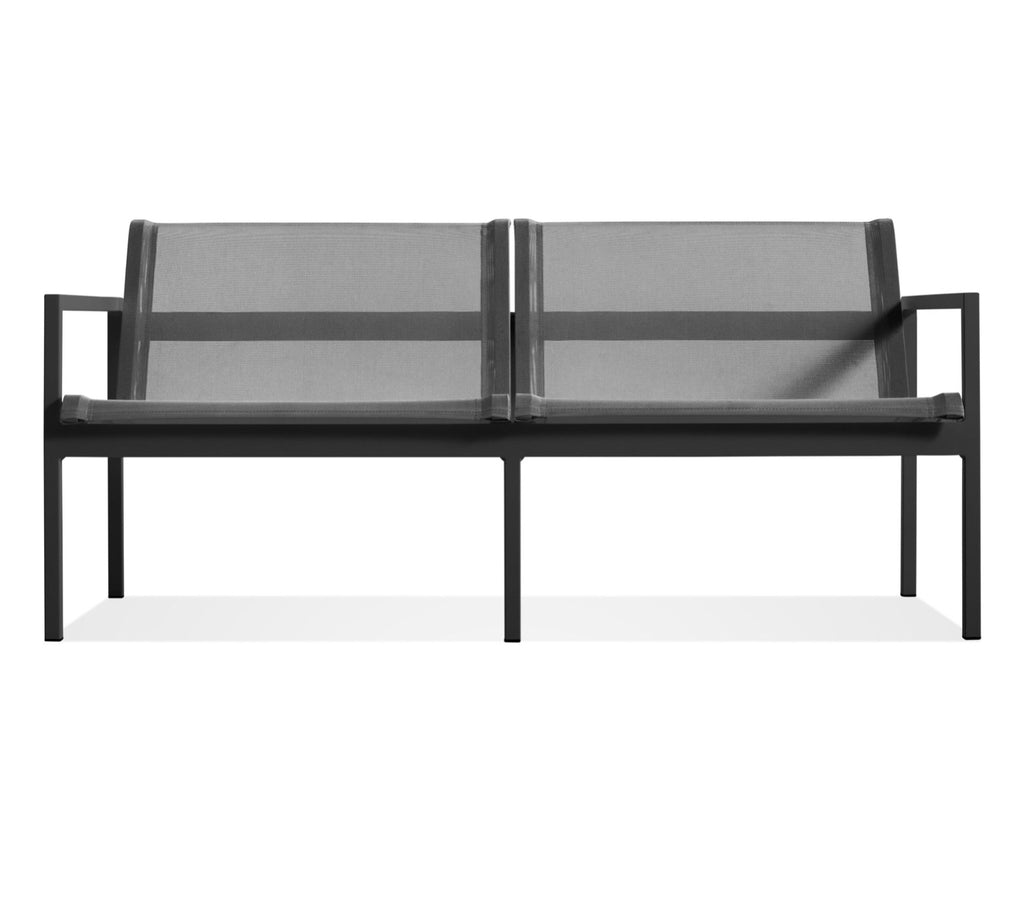Blu Dot Skiff Carbon Outdoor 2 Seat Sofa - Matthew Izzo Home