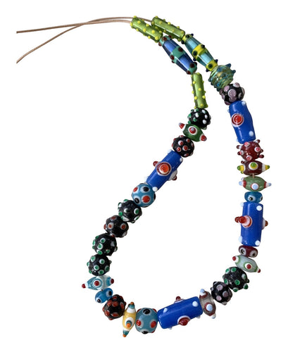 Vintage Boho Handblown Glass Beads - Matthew Izzo Home