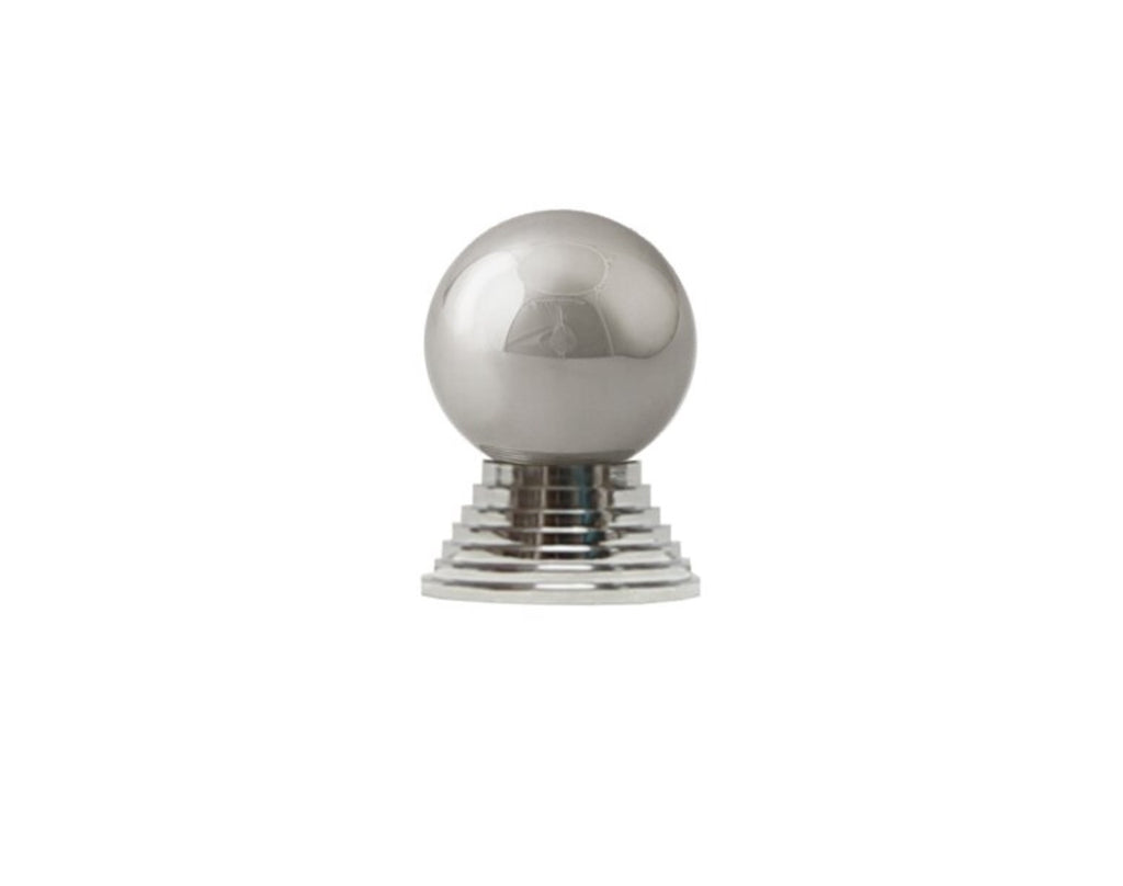 Worlds Away Betsy Nickel Cabinet Knobs - Matthew Izzo Home