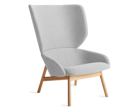 Blu Dot Heads Up Light Grey Lounge Chair - Matthew Izzo Home