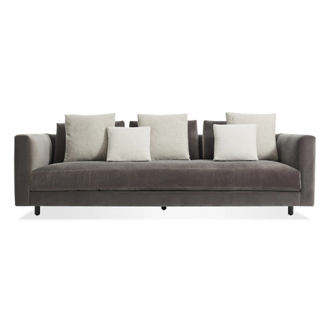 "Blu Dot Hands Down 94"" Sofa in Storm Velvet - Matthew Izzo Home"