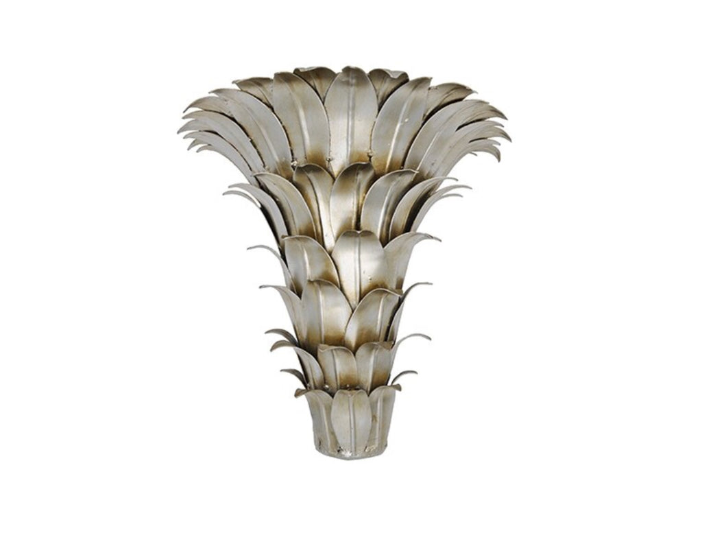 Worlds Away Mariana Silver Leaf Wall Bracket - Matthew Izzo Home