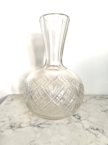Early 20th Century Elegant Glass Vase - Matthew Izzo Home