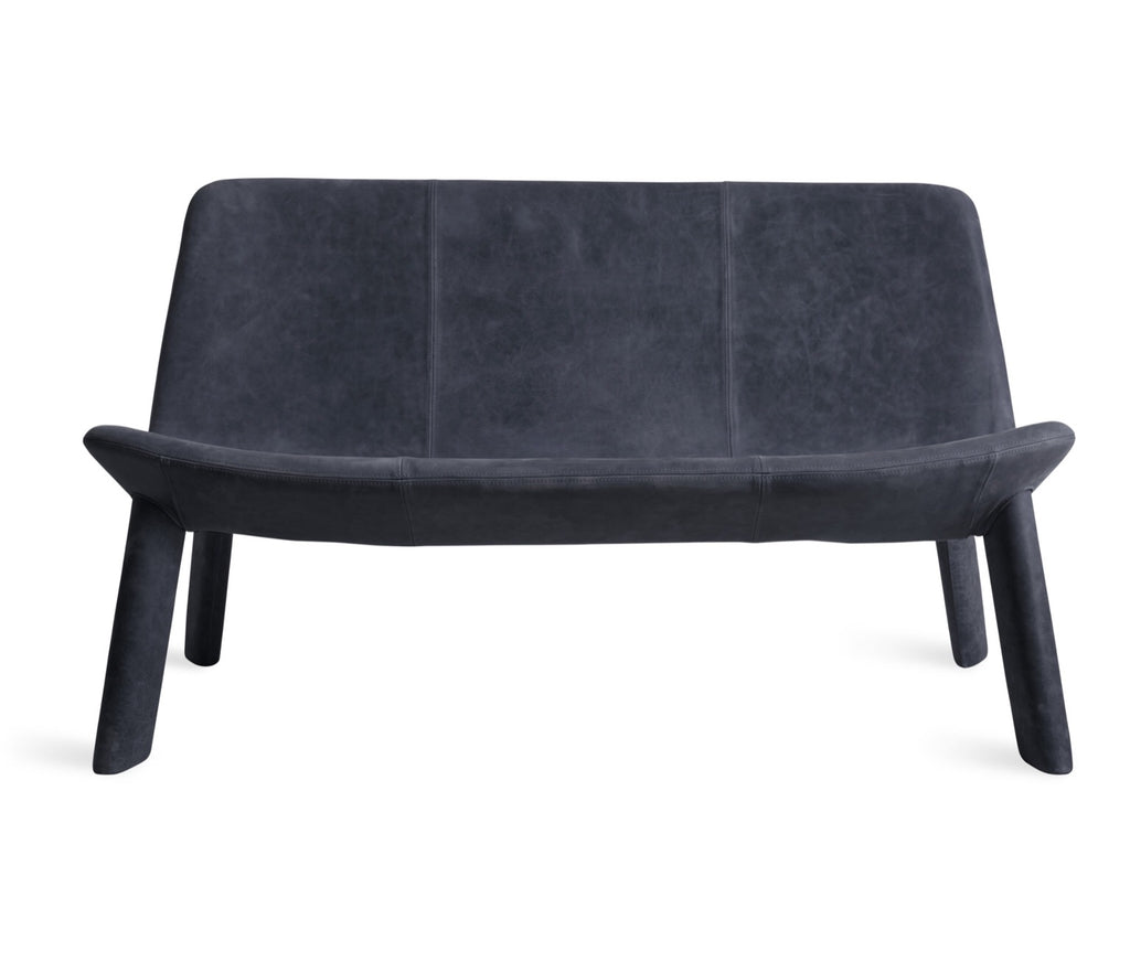 Blu Dot Neat Ink Leather Settee - Matthew Izzo Home