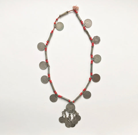 Vintage coin necklace - Matthew Izzo Home