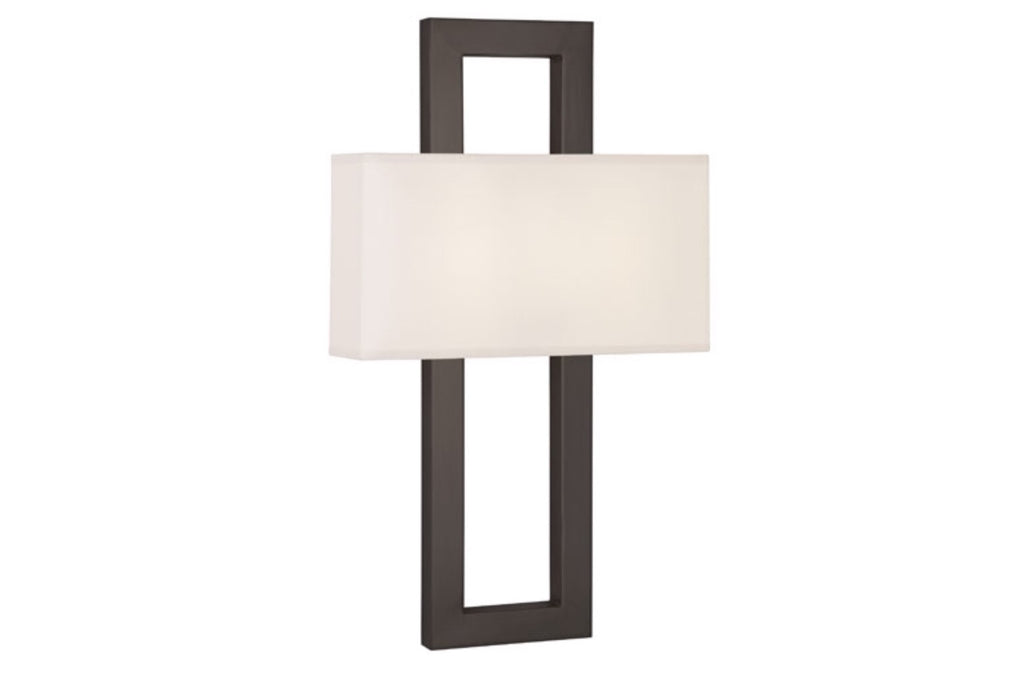 Robert Abbey Doughnut Modern Bronze Wall Sconce - Matthew Izzo Home