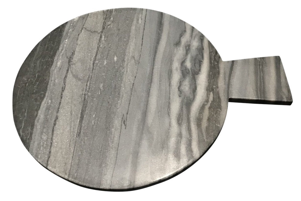 Black and Grey Marble Cheese Board - Matthew Izzo Home
