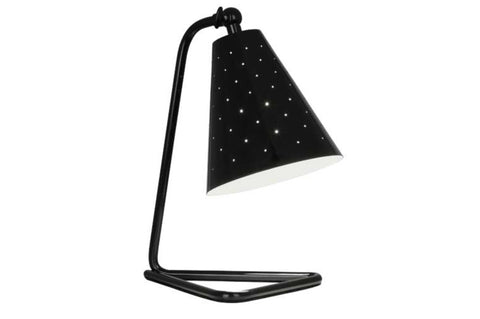 Robert Abbey Pierce Black Task Table Lamp - Matthew Izzo Home
