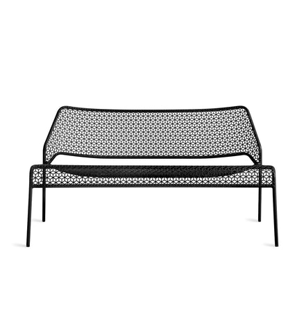 Blu Dot Hot Mesh Black Settee - Matthew Izzo Home