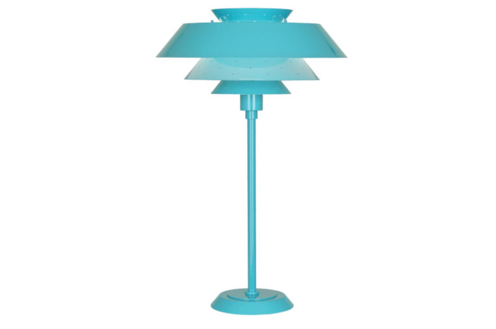 Robert Abbey Pierce Blue Table Lamp - Matthew Izzo Home