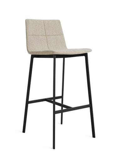 Blu Dot Between Us Stone Modern Bar Stool - Matthew Izzo Home
