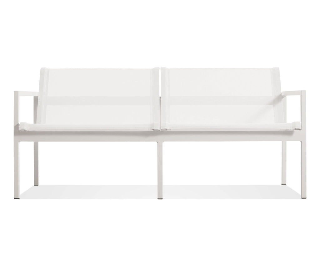 Blu Dot Skiff White Outdoor 2 Seat Sofa - Matthew Izzo Home