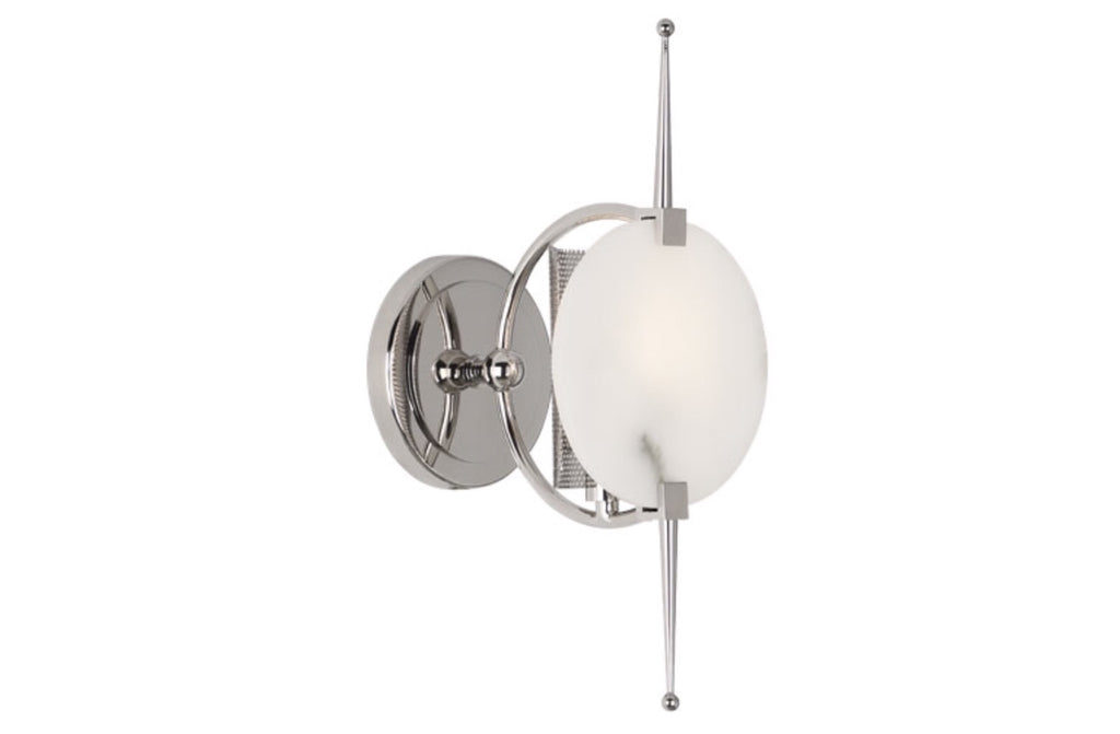 Robert Abbey Jace Nickel Wall Sconce - Matthew Izzo Home