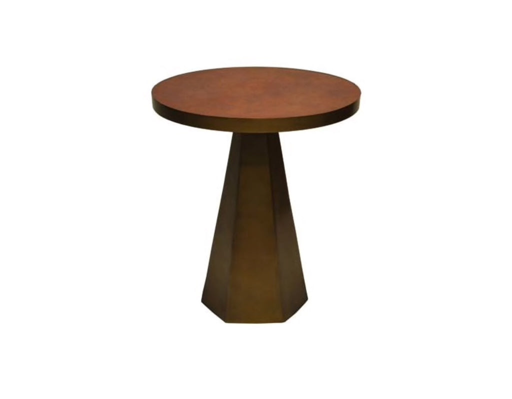 Worlds Away Woodrow Side Table - Matthew Izzo Home