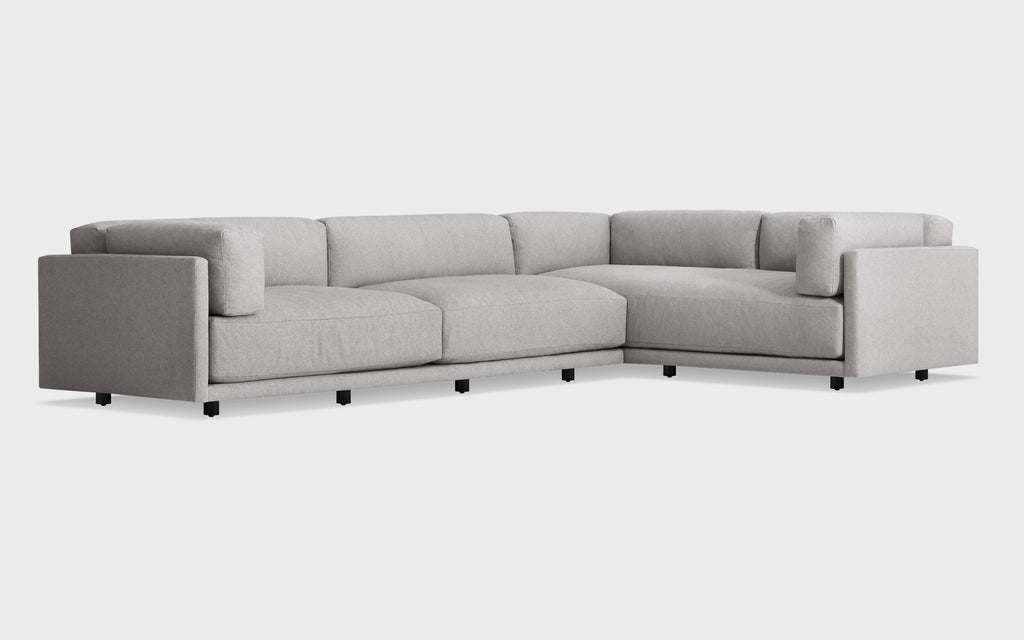Sunday L Sectional Sofa w/ Left Arm Chaise - Matthew Izzo Home