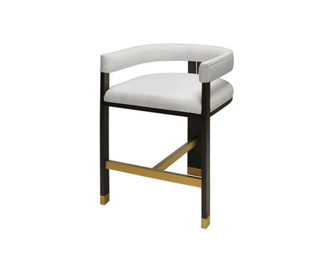 Worlds Away Cruise Modern Counter Stool - Matthew Izzo Home