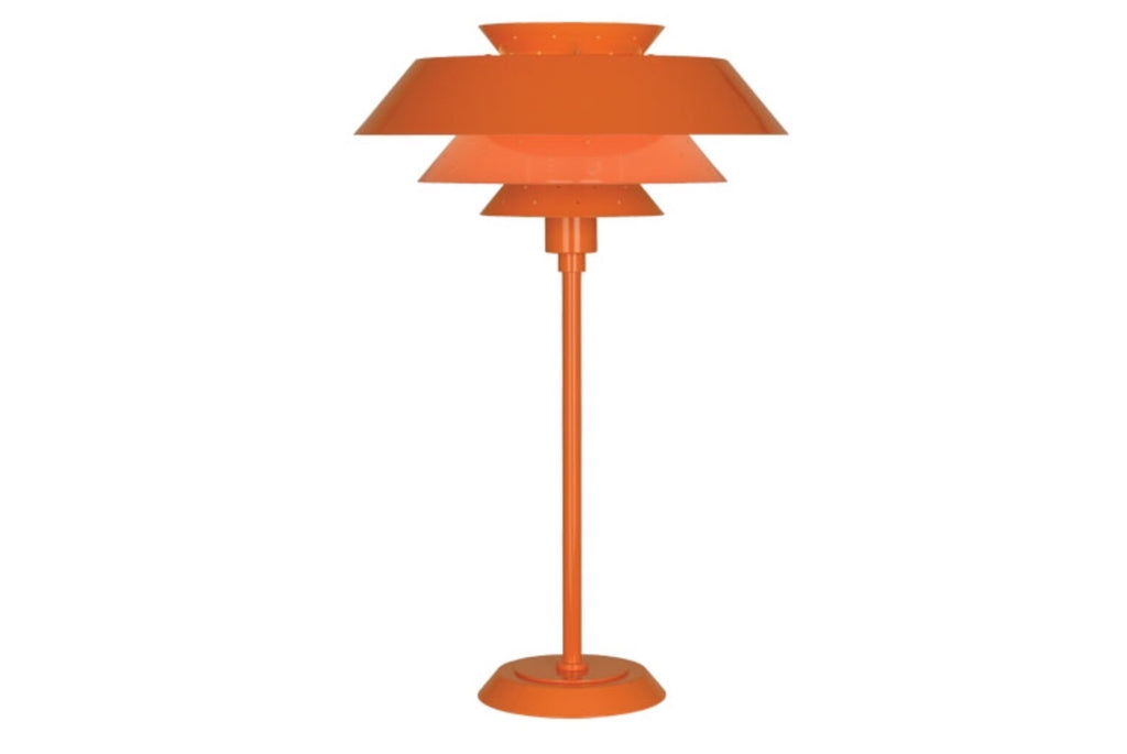 Robert Abbey Pierce Orange Table Lamp - Matthew Izzo Home