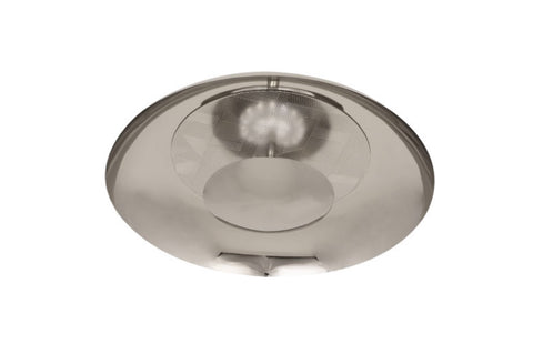 Michael Berman Brut Polished Nickel LED Flushmount - Matthew Izzo Home