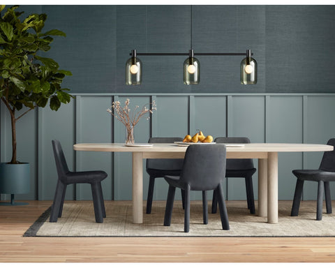 "Blu Dot Good Times 100"" Ash Dining Table - Matthew Izzo Home"