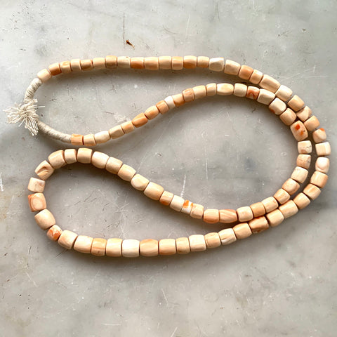 Mid-Century Shell African Trade Beads - Matthew Izzo Home