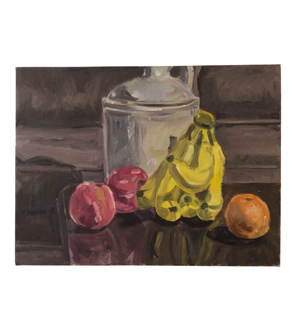 Original Still Life With a Jug and Bananas - Matthew Izzo Home