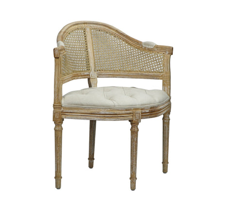 Cotswald Rustic Corner Chair - Matthew Izzo Home