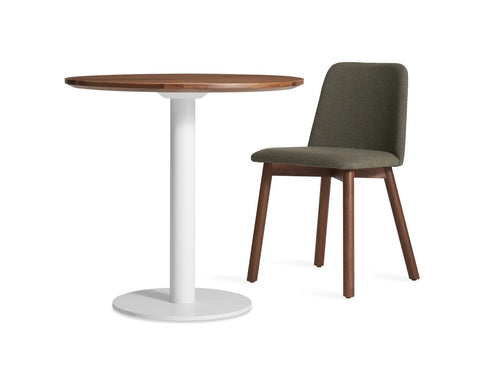 "Blu Dot Easy Walnut 30"" Cafe Table"