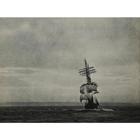 1930s Photogravure Seascape, Titled 'Off Port Jackson' - Matthew Izzo Home