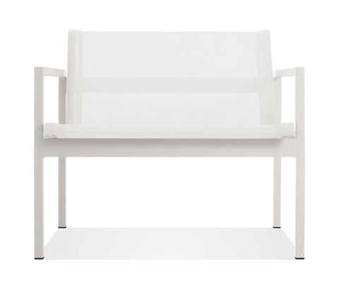 Blu Dot Skiff White Outdoor Lounge Chair - Matthew Izzo Home