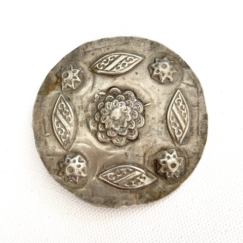 Antique Chinese Coin Silver Pendant - Matthew Izzo Home