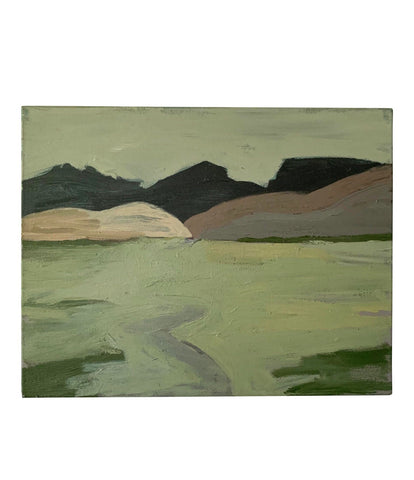 Landscape Oil on Canvas Painting by Julie Tooth - Matthew Izzo Home