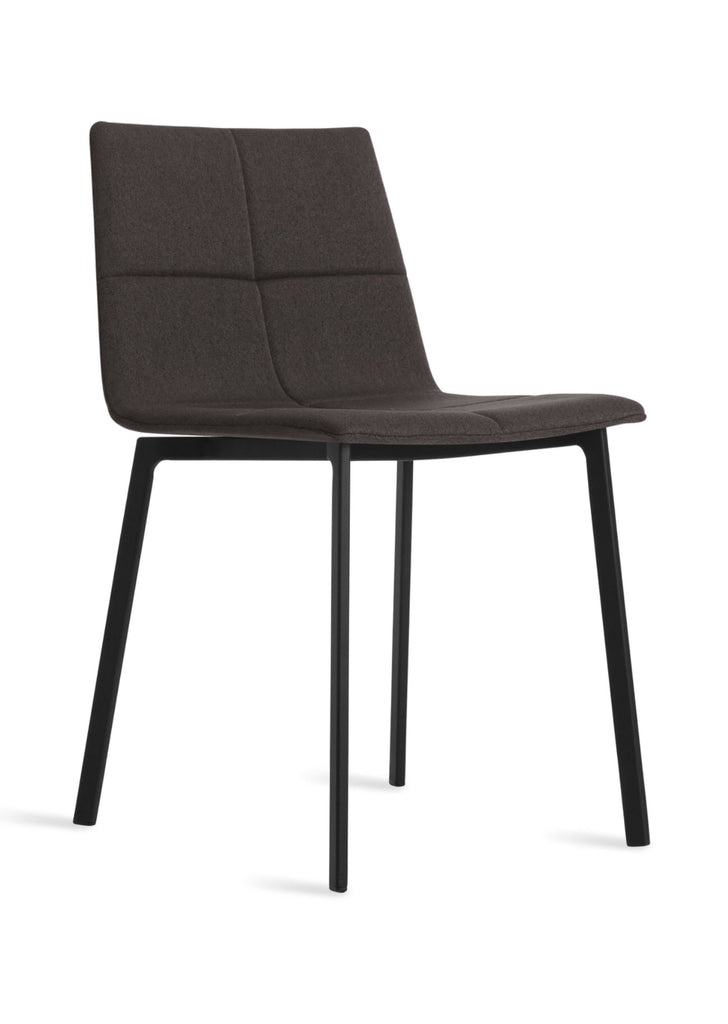Blu Dot Between Us Gunmetal Modern Dining Chair - Matthew Izzo Home