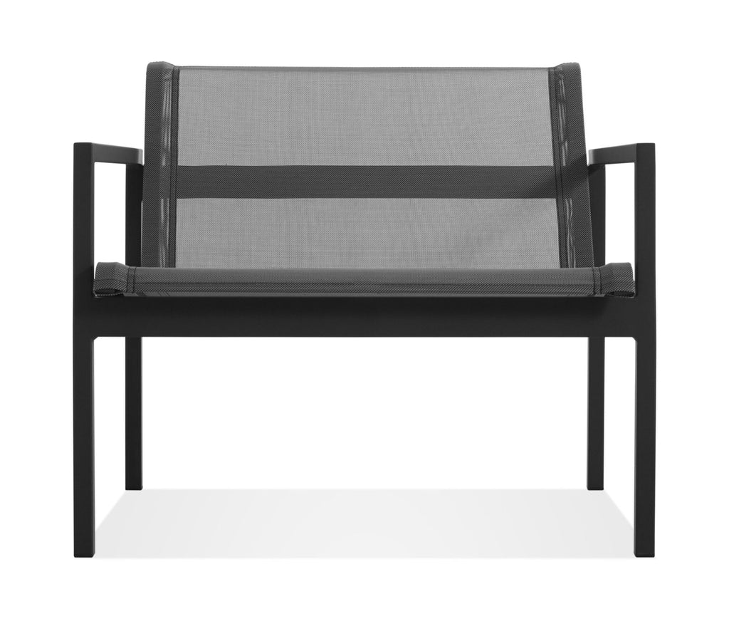Blu Dot Skiff Carbon Outdoor Lounge Chair - Matthew Izzo Home