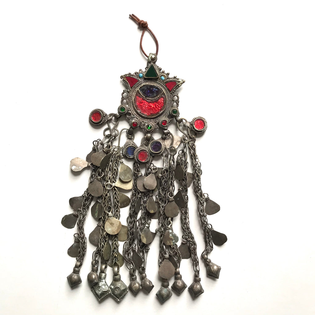 Antique India charm pendant