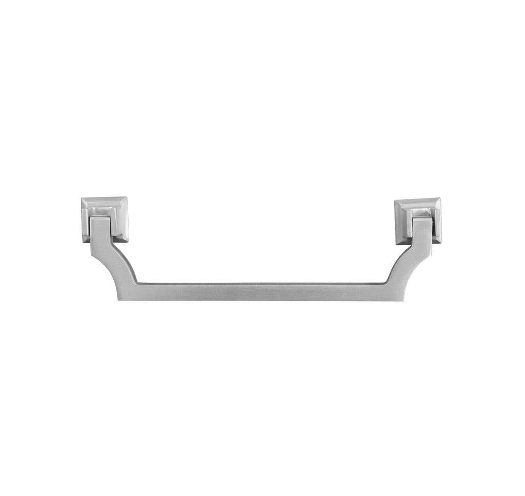 Worlds Away Murray Nickel Swinging Cabinet Handle - Matthew Izzo Home