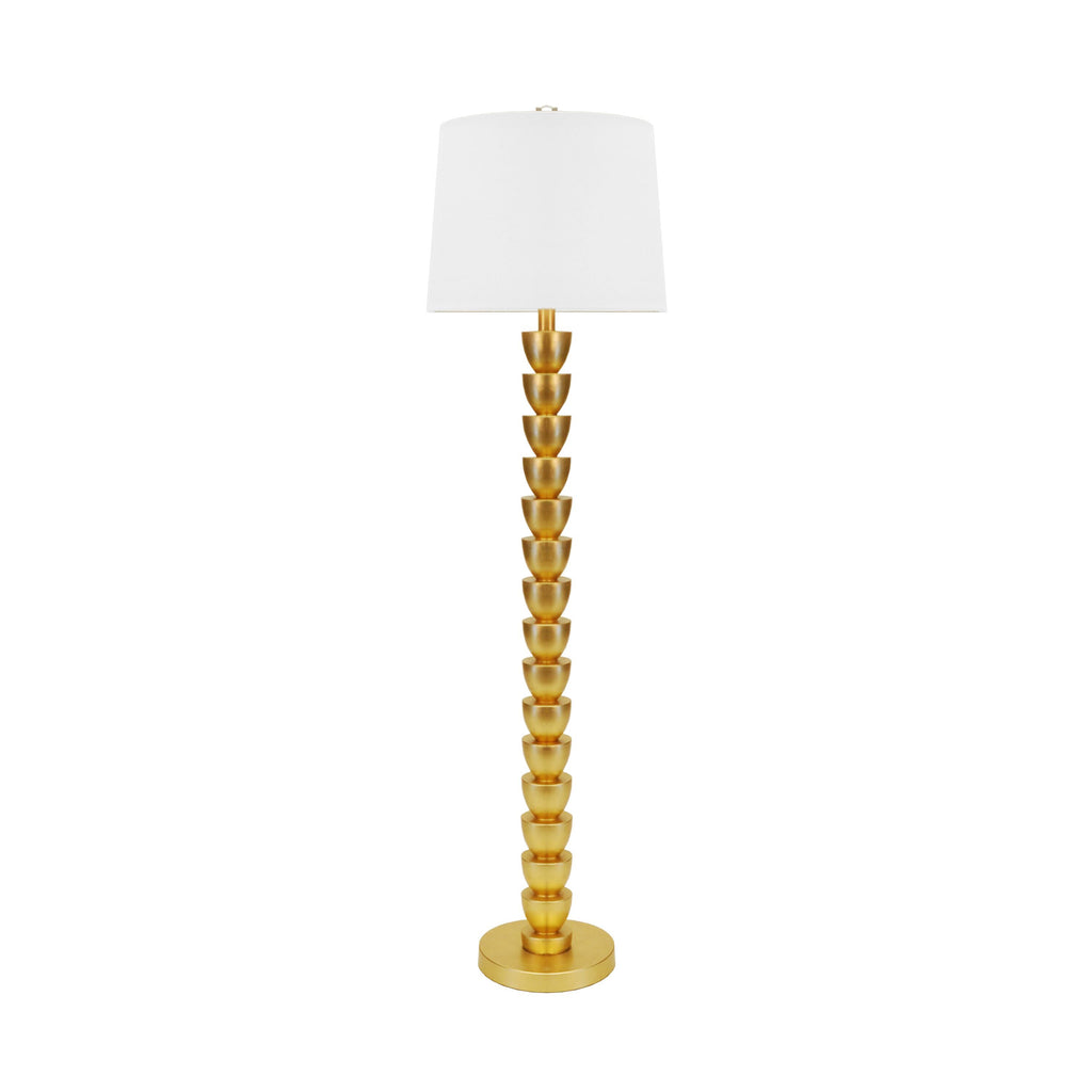 Worlds Away Horton Stacked Floor Lamp - Matthew Izzo Home