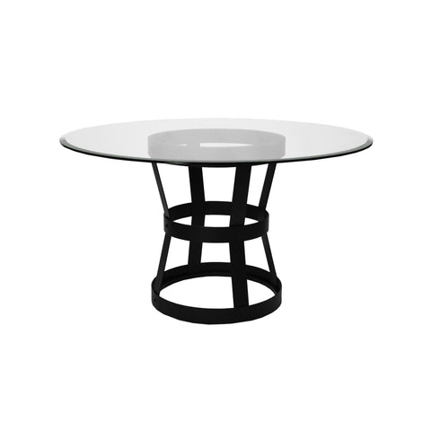 Worlds Away Cannon Modern Round Dining Table - Matthew Izzo Home