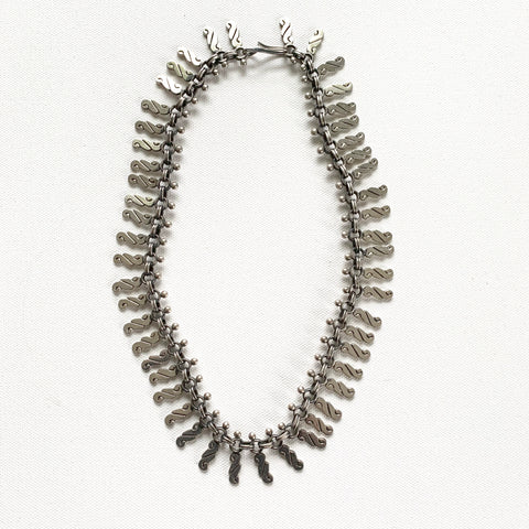 Vintage Sterling Silver Necklace - Matthew Izzo Home