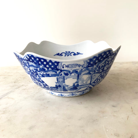 Vintage Chinese Porcelain Bowl - Matthew Izzo Home