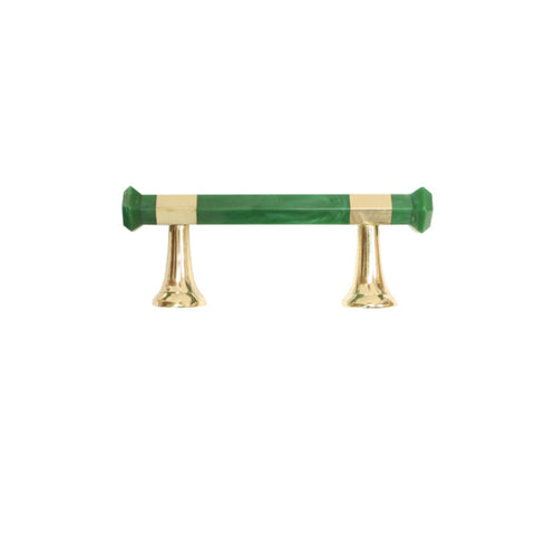 Worlds Away Lisbon Drawer Handle in Green