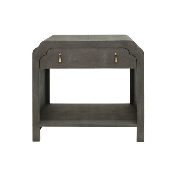 Worlds Away Nancy Side Table - Matthew Izzo Home