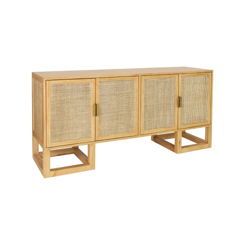 Worlds Away Patrick Four Door Cabinet