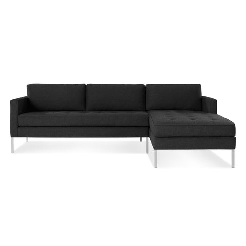 Blu Dot Paramount Sofa with Right Arm Chaise - Matthew Izzo Home