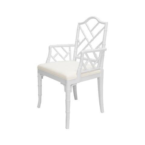 Worlds Away Bristol Chippendale Style Dining Chair - Matthew Izzo Home