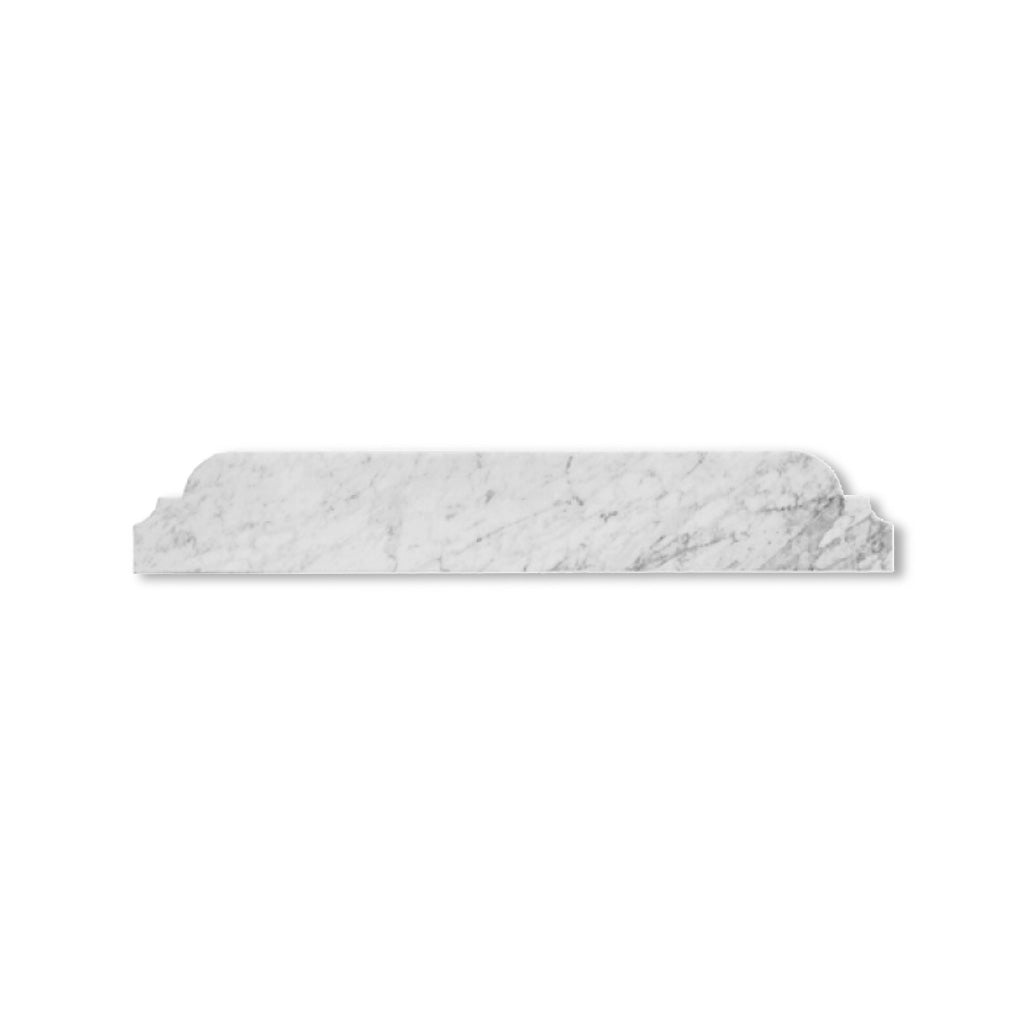 Worlds Away Marble Bullnose for Bathroom Vanity