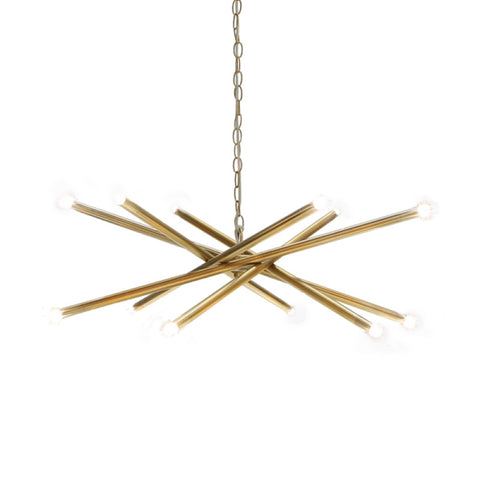 Worlds Away Luisa Chandelier - Matthew Izzo Home