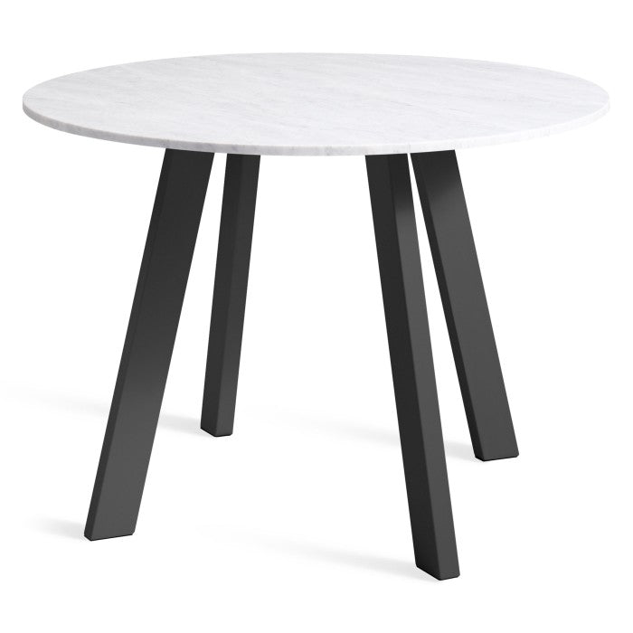 Blu Dot Right Round Marble Dining Table 42""