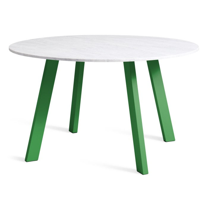 Blu Dot Right Round Marble Dining Table 52""
